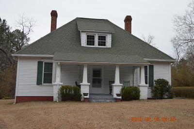 Jackson Springs Single Family Home Active/Contingent: 145 Mill Road Road