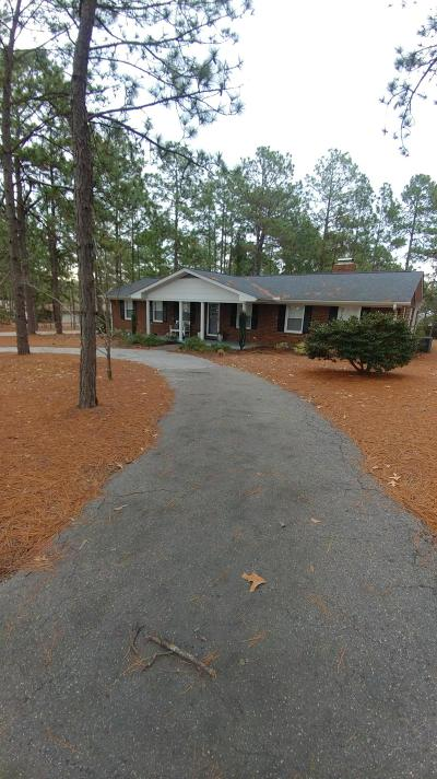 Southern Pines Single Family Home Active/Contingent: 635 Pee Dee Road