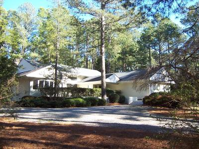 Pinehurst Single Family Home For Sale: 195 Lake Dornoch Drive