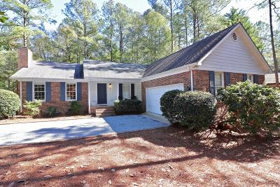 Pinehurst Single Family Home Active/Contingent: 2 Pine Orchard Place