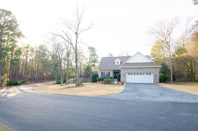Moore County Single Family Home Active/Contingent: 5 Salem Lane