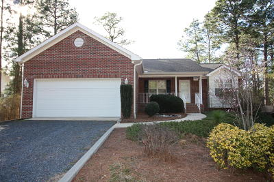 Pinehurst Single Family Home For Sale: 155 Spring Lake Drive
