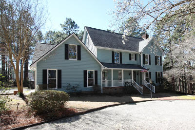 Moore County Single Family Home Active/Contingent: 710 Wildwood Road
