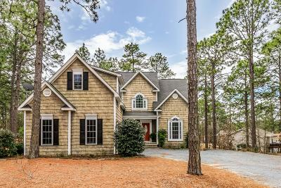 Pinehurst Single Family Home For Sale: 1070 Longleaf Drive NW