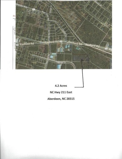 Aberdeen NC Commercial For Sale: $120,000