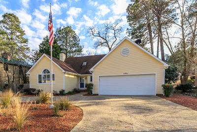Moore County Single Family Home Active/Contingent: 1010 St Andrews Drive