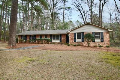 Southern Pines Single Family Home For Sale: 655 S Valley Road