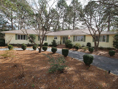 Pinehurst Single Family Home Active/Contingent: 130 Thunderbird Lane