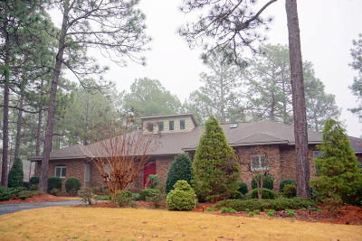 Moore County Single Family Home Active/Contingent: 5 Chatham Lane