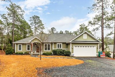 Southern Pines Single Family Home Active/Contingent: 105 Rob Roy Road
