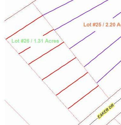 Cameron Residential Lots & Land For Sale: 111 Eaker Drive