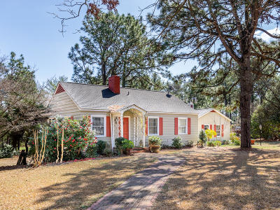 Southern Pines Single Family Home Active/Contingent: 675 Fairway Drive