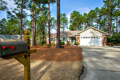 Pinehurst Single Family Home For Sale: 242 Juniper Creek Boulevard