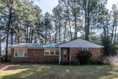 Southern Pines Single Family Home Active/Contingent: 825 N Page Street