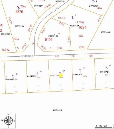 Jackson Springs Residential Lots & Land For Sale: 37 Richmond Road