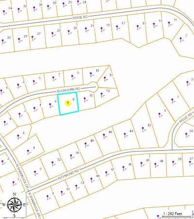 Foxfire Residential Lots & Land For Sale: 8 Buckhorn Road