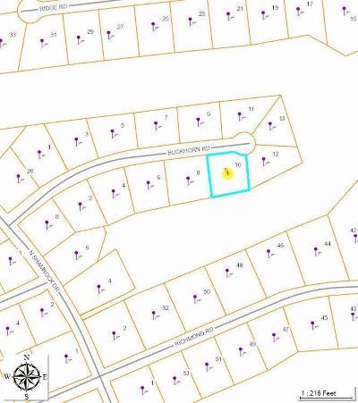 Foxfire Residential Lots & Land For Sale: 10 Buckhorn Road
