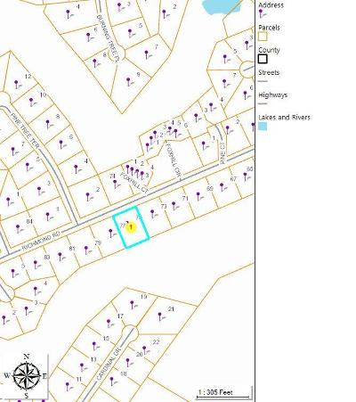 Jackson Springs Residential Lots & Land For Sale: 75 Richmond Road