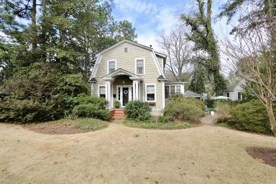 Southern Pines Multi Family Home Active/Contingent: 310 N Ridge Street