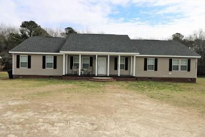 Single Family Home For Sale: 5241 Rosser Pittman Road
