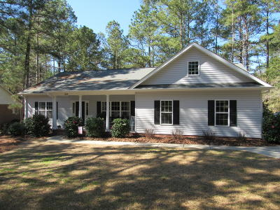 Moore County Single Family Home Active/Contingent: 295 Merion Circle