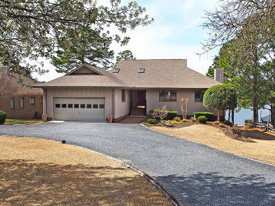 Seven Lakes, West End Single Family Home Active/Contingent: 158 Overlook Drive
