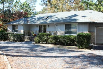 Pinehurst NC Single Family Home For Sale: $196,500