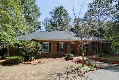 Southern Pines Single Family Home For Sale: 265 Fairway Drive