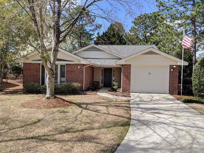 Pinehurst NC Single Family Home For Sale: $220,000