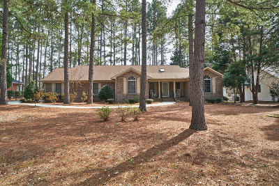 Whispering Pines Single Family Home Active/Contingent: 23 Birdie Drive