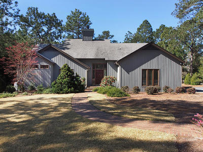 Pinehurst Single Family Home Active/Contingent: 63 Pinewild Drive