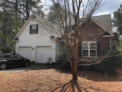 Pinehurst NC Single Family Home For Sale: $268,000