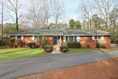 Southern Pines Single Family Home Active/Contingent: 195 Boiling Springs Circle