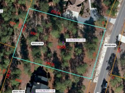Pinewild Cc Residential Lots & Land Active/Contingent: 14 Kilberry Drive