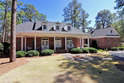 Pinehurst Single Family Home For Sale: 25 Brookhaven Road