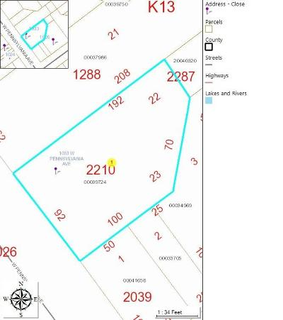 Southern Pines Residential Lots & Land For Sale: 1033 W Pennsylvania Avenue