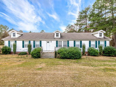 Southern Pines Single Family Home Active/Contingent: 4940 Niagara Carthage Road