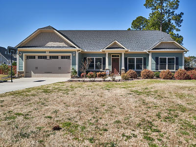 Whispering Pines Single Family Home Active/Contingent: 218 Brightleaf Drive