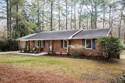 Southern Pines Single Family Home For Sale: 192 Boiling Springs Circle