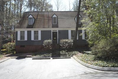 Southern Pines Single Family Home For Sale: 13 Village In Woods