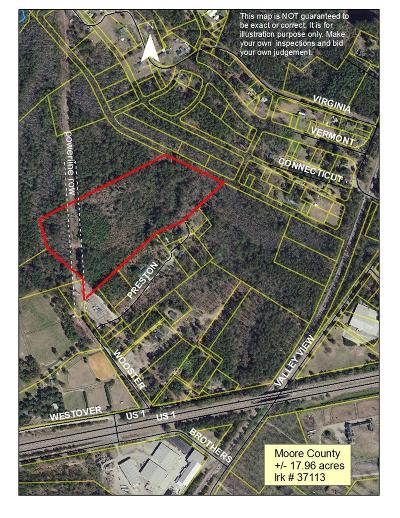 Southern Pines Residential Lots & Land For Sale: Wooster Road