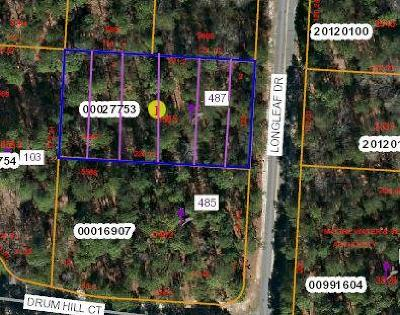 Residential Lots & Land For Sale: 487 Longleaf Drive