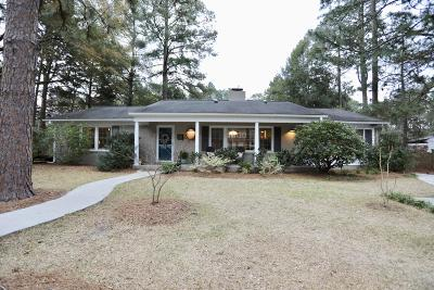 Southern Pines Single Family Home For Sale: 145 Duffers Lane Lane