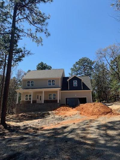 Southern Pines Single Family Home Active/Contingent: 107 Corran Circle