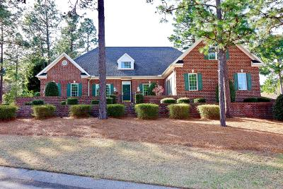 Southern Pines Single Family Home Active/Contingent: 10 Steeplechase Court