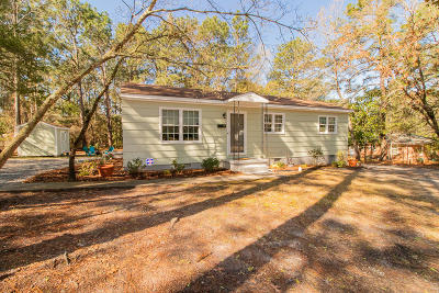Southern Pines Single Family Home Active/Contingent: 380 W New Jersey Avenue