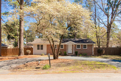Southern Pines Single Family Home Active/Contingent: 335 W Iowa Avenue