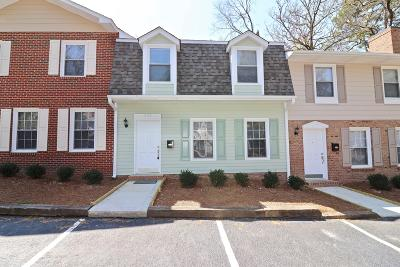 Southern Pines Condo/Townhouse For Sale: 473 N Ashe Street