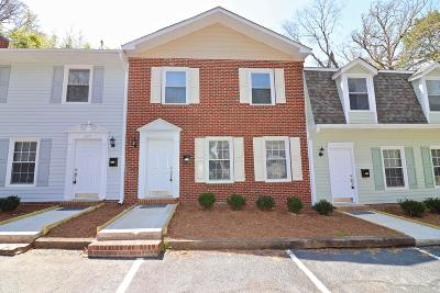 Southern Pines Condo/Townhouse For Sale: 475 N Ash Street #6
