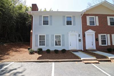 Southern Pines Condo/Townhouse Active/Contingent: 477 N Ashe Street